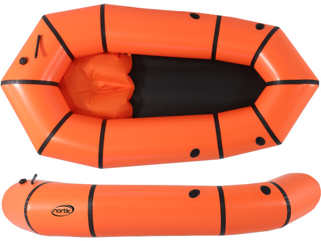 nortik Light-Raft Barca, orange/black